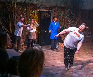 Michael Stedman, Anna Soden, Chevin Dash and Elizabeth Bartram in Return to Elm House.
