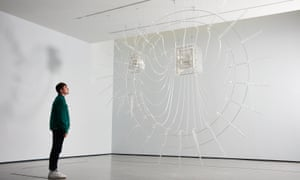 Wonderful … Cerith Wyn Evans's Composition for 37 flutes on display as part of The Hepworth Prize for sculpture