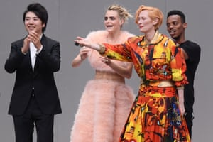 Lang Lang, Cara Delevingne, Tilda Swinton and Lil Buck Karl for Ever