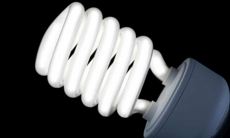 An energy-saving fluorescent light bulb
