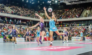 Surrey Storm take on Hertfordshire Mavericks in front of a packed-out Copper Box.