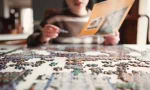 Jigsaw puzzles have been selling out around the world as people in lockdown look for hobbies to keep themselves occupied.