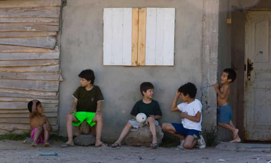 Many children in poor areas, such as La Cava in Buenos Aires, have not been registered