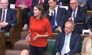 Jo Swinson, Leader of the Liberal Democrats speaking next to Phillip Lee, who has defected from the Conservatives to the Liberal Democrats.