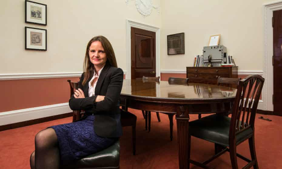 Charlotte Hogg is the Bank's chief operating officer.