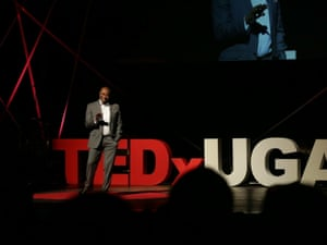 J Marshall Shepherd on the Ted stage