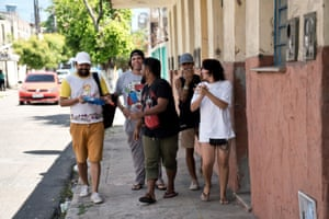 Street poets and rappers who campaign against youth violence in Fortaleza.