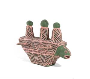 Turtle boat (2001) by John Patrick Kelantumama