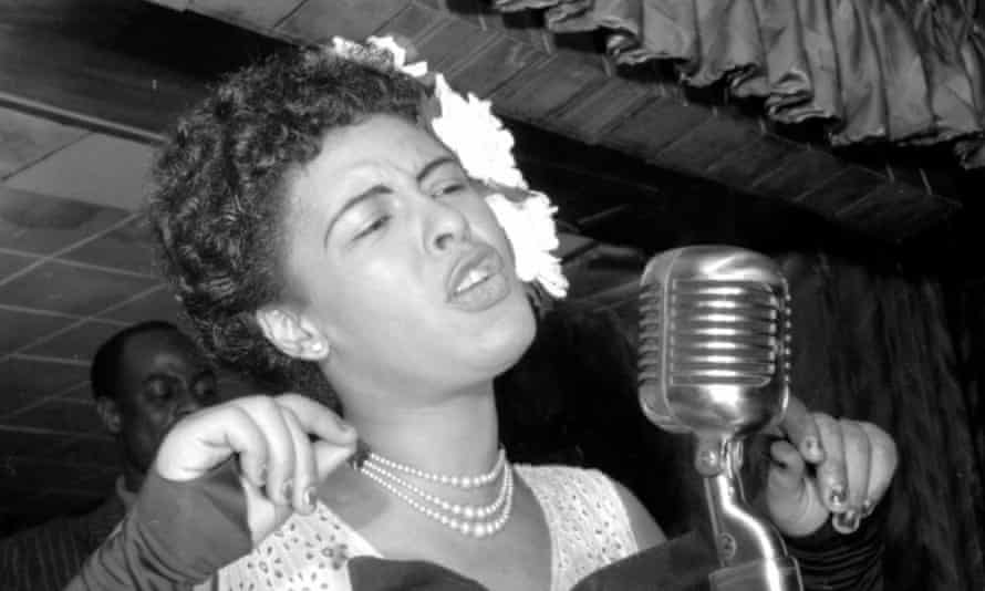 Hardwick spent time with Billie Holiday.
