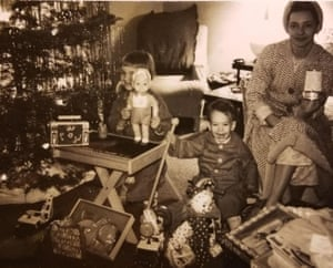 Christmas at William Goggia's family home, which was lost in the fire.