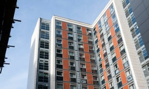 The Paragon site in west London is owned by Notting Hill Genesis housing association