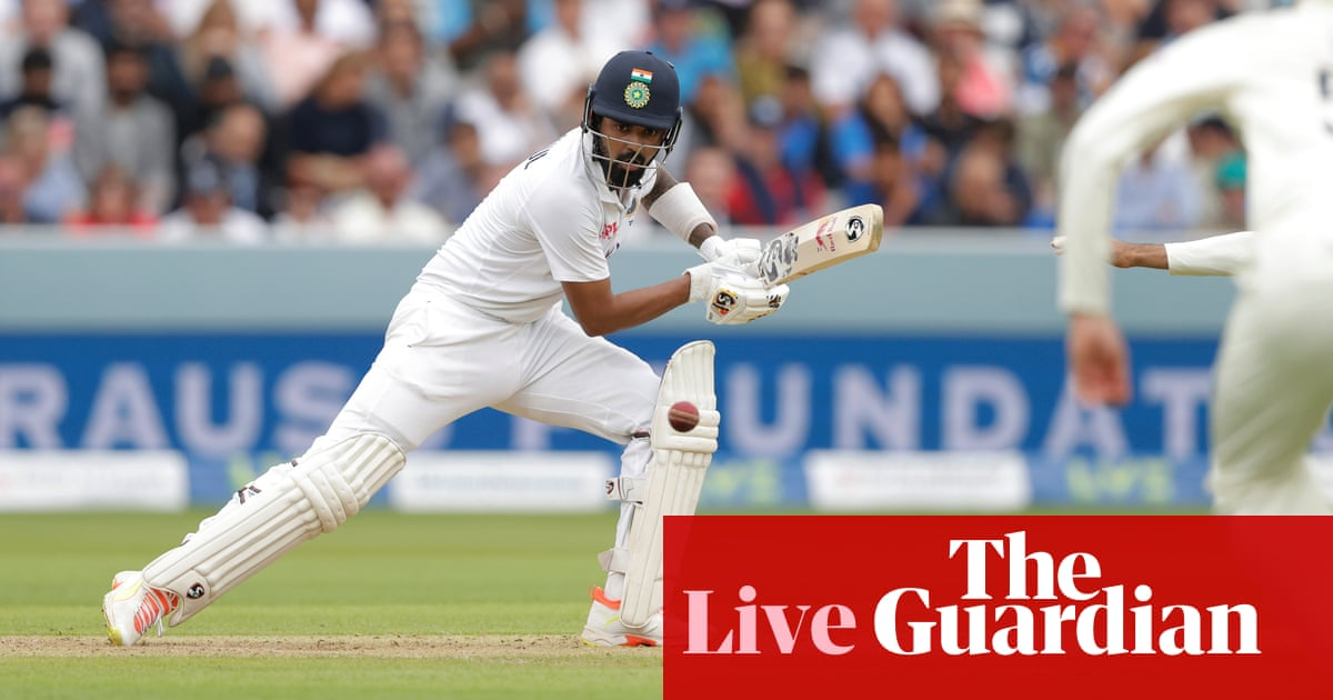 England v India: second Test, day two – live