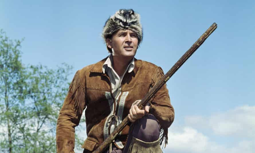 Daniel Boone (this is Fess Parker in the TV version of his life) was one of the pioneers and hunters who practically invented 'being American'.