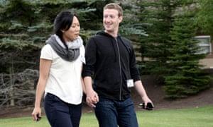 Zuckerberg and Priscilla Chan