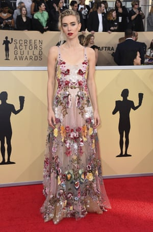 Vanessa Kirby, who plays Princess Margaret in The Crown, in Valentino.