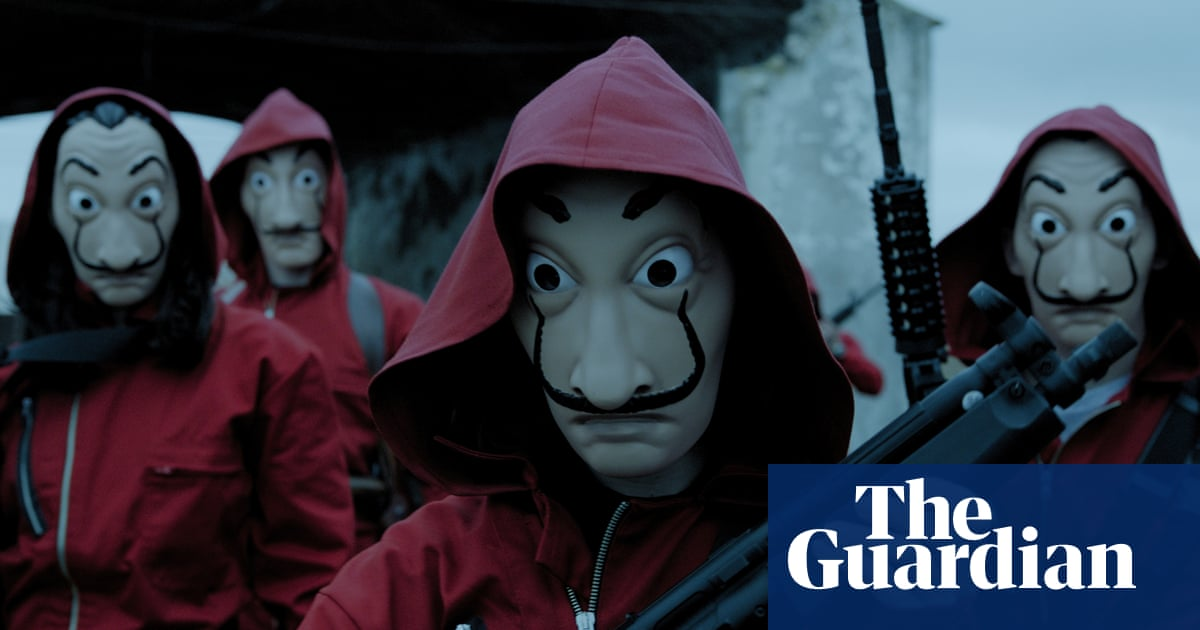 'It's pure rock'n'roll': how Money Heist became Netflix's biggest global hit