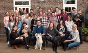 The team at tails.com, which makes and delivers dog food