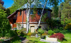 Accommodation in the eco-village, Findhorn Foundation, Moray, Scotland, UK.