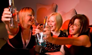 The OECD found that women in the UK with a good education were twice as likely to be binge drinkers.