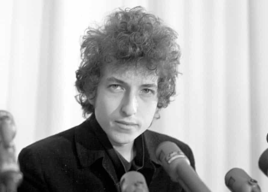 Bob Dylan in 1965.