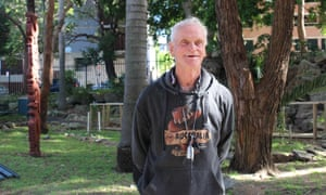 Henry Wilson, 73, slept rough at Sydney's Central Station for several months.