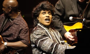 Little Richard performing at the Olympia Concert Hall in Paris, 2005.