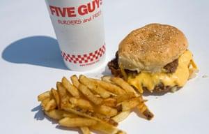 Five Guys - Bacon Cheeseburger