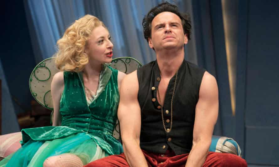 Andrew Scott with Kitty Archer in Present Laughter at the Old Vic in 2019.