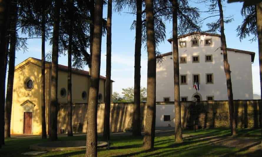 House proud … the La Tinaia accommodation block and Ethnos restaurant in Villaggio La Brocchi