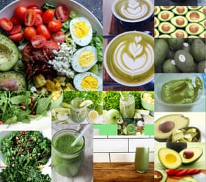 Green is gold … no avocado goes unInstagrammed.