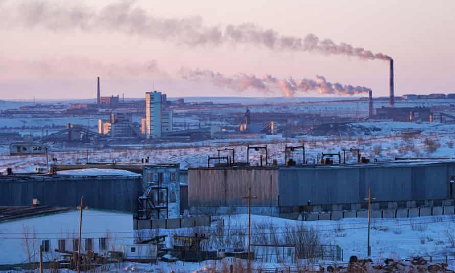 The Severnaya, Ayach-Yaga coal mines in Russia