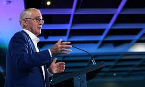 Former prime minister Malcolm Turnbull