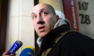 Vjeran Tomic, the main suspect in the case of the 2010 theft of five masterpieces from the Paris Modern Art Museum.