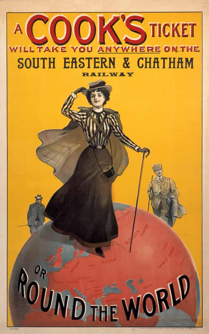 A Cooks Ticket, SE&CR poster, 1910.