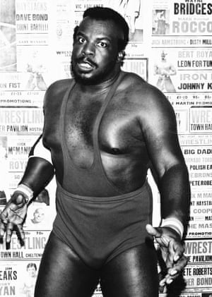Born in the US, Big Jim Harris emerged in the UK in the late 1970s. In the early 1980s, he was a fixture on the British scene, engaging with many of the great names, from Mal Kirk to Pat Roach
