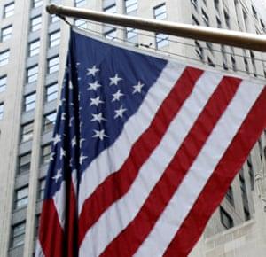 FILE PHOTO: A US flag.