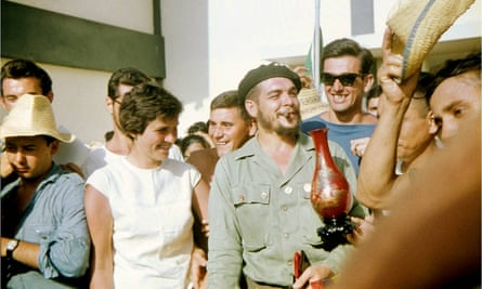 Nicola Seyd's photograph of Che Guevara, taken during her trip to Cuba in 1960.