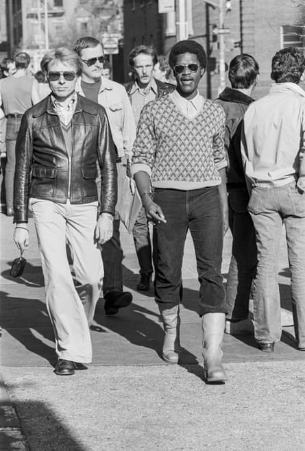 On the march ... Untitled #22, 1976, from the series Christopher Street.