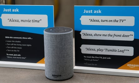 Prompts on how to use Amazon's Alexa personal assistant