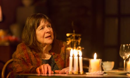Motherliness and mystery … Marylouise Burke as Mertis in John.