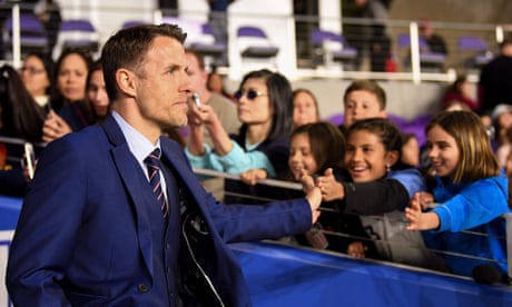 Phil Neville's expansive game for England helps win hearts and minds | Louise Taylor
