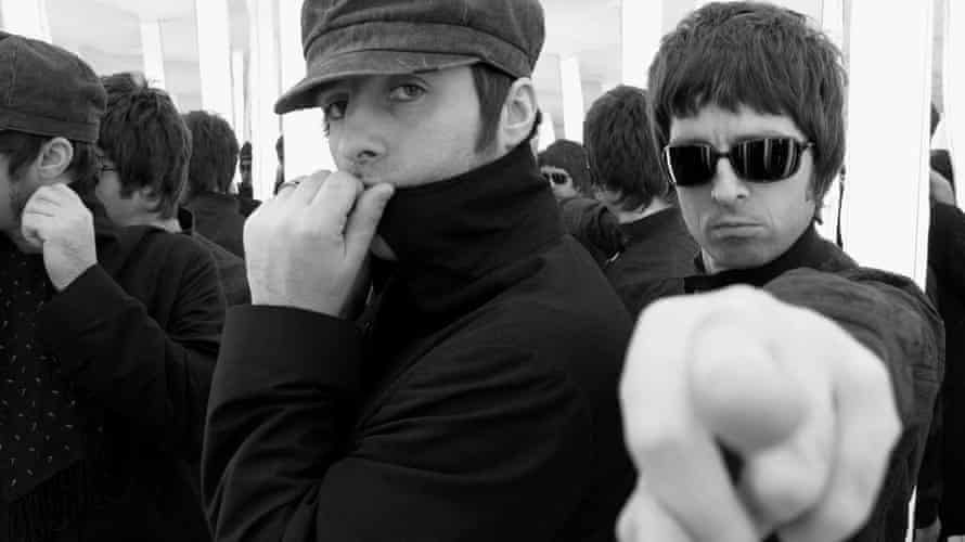 Liam, left, and Noel Gallagher of Oasis