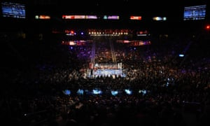 A general view of the ring at the MGM Grand Garden Arena