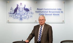Justice Peter McClellan at a royal commission hearing in Sydney