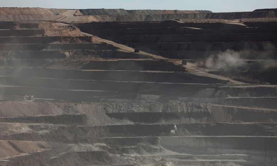Rio Tinto mine in California