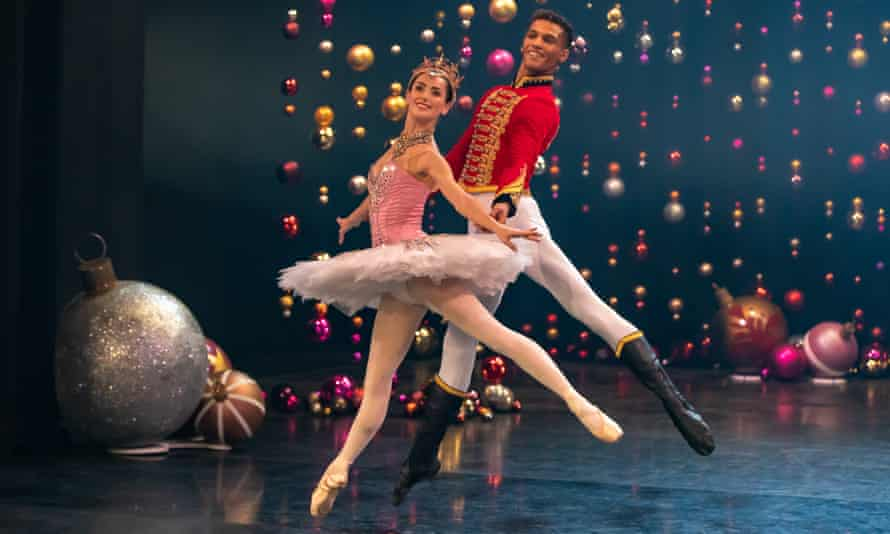 Screen-savvy … Sophie Martin and Jerome Anthony Barnes filming Scottish Ballet's first feature, The Secret Theatre.