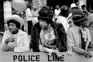 Three Women at a Parade, Harlem, NY, from Harlem, U.S.A., 1978