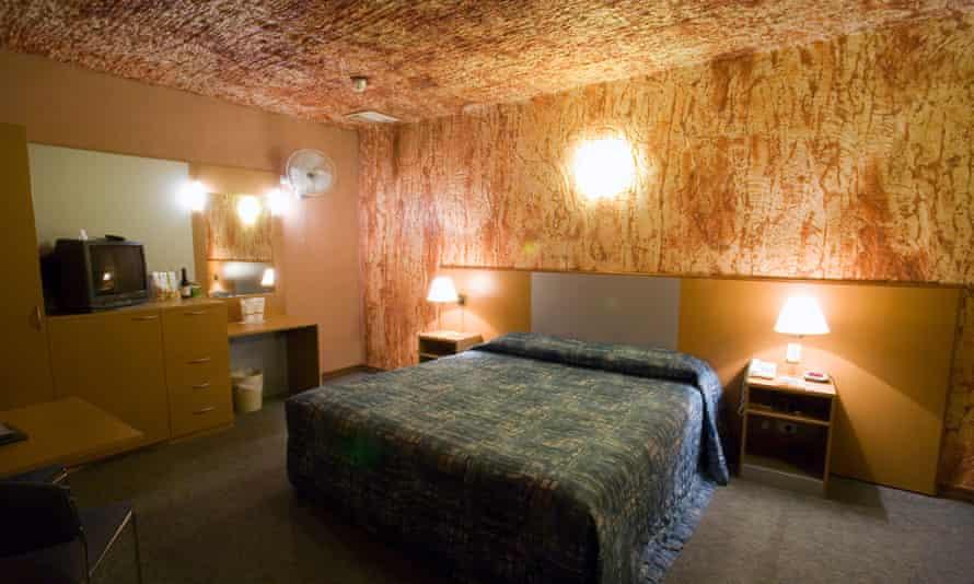 Desert Cave Hotel.