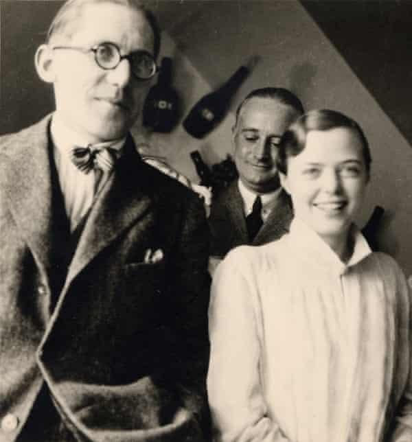 L'esprit nouveau … Perriand with Le Corbusier in 1928.
