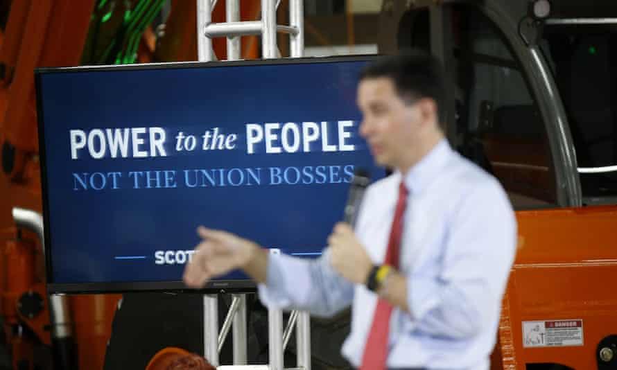 Scott Walker<br>Republican presidential candidate Wisconsin Gov. Scott Walker speaks during a town hall meeting Monday, Sept. 14, 2015, in Las Vegas. (AP Photo/Isaac Brekken)